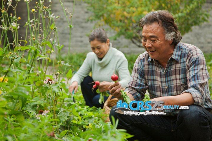 Amonsagana senior-couple-in-garden-PLM9BJH